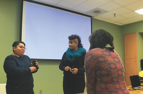 Creative Women's Alliance Workshop, 2018. Photo courtesy of Kristin G.