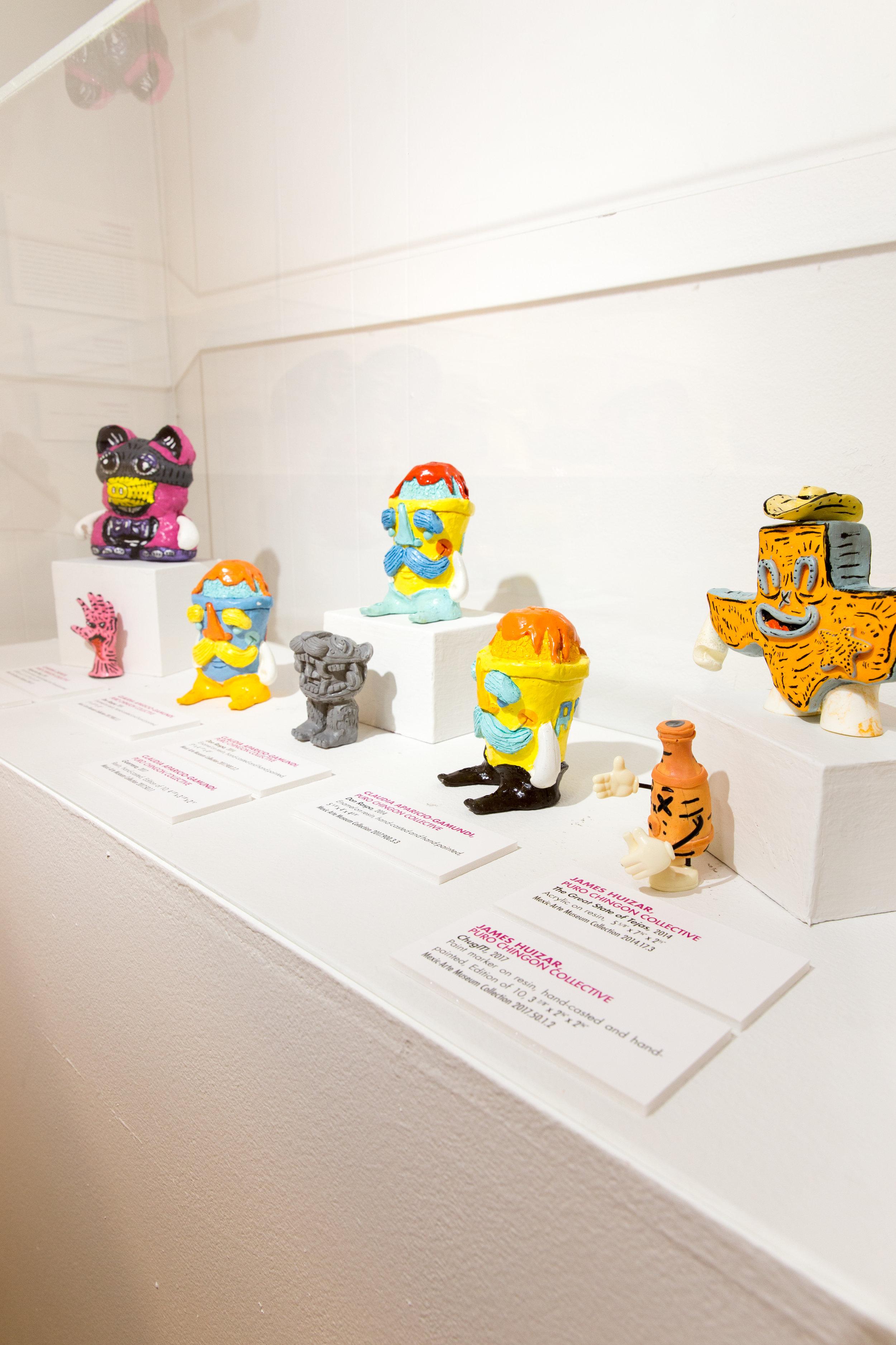 Expresiones en Esculturas , Mexic-Arte Museum June 21-August 25, 2019, Austin, TX, (Curated by Rebecca Gomez)