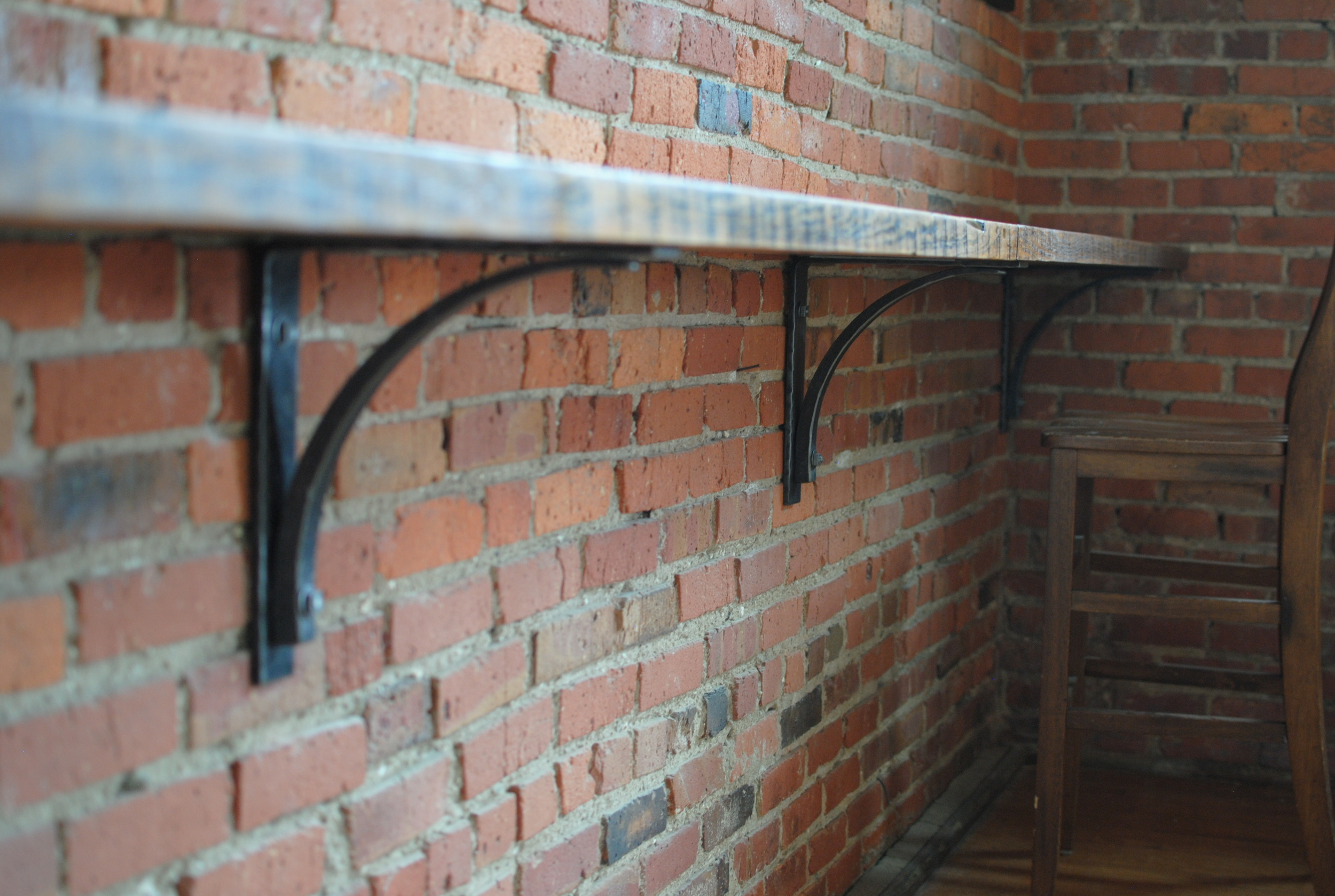Bar Counter and Brackets
