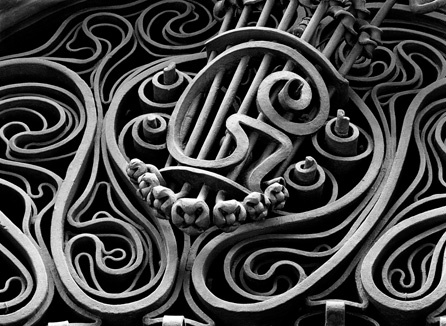 Grillwork at Palau Güell