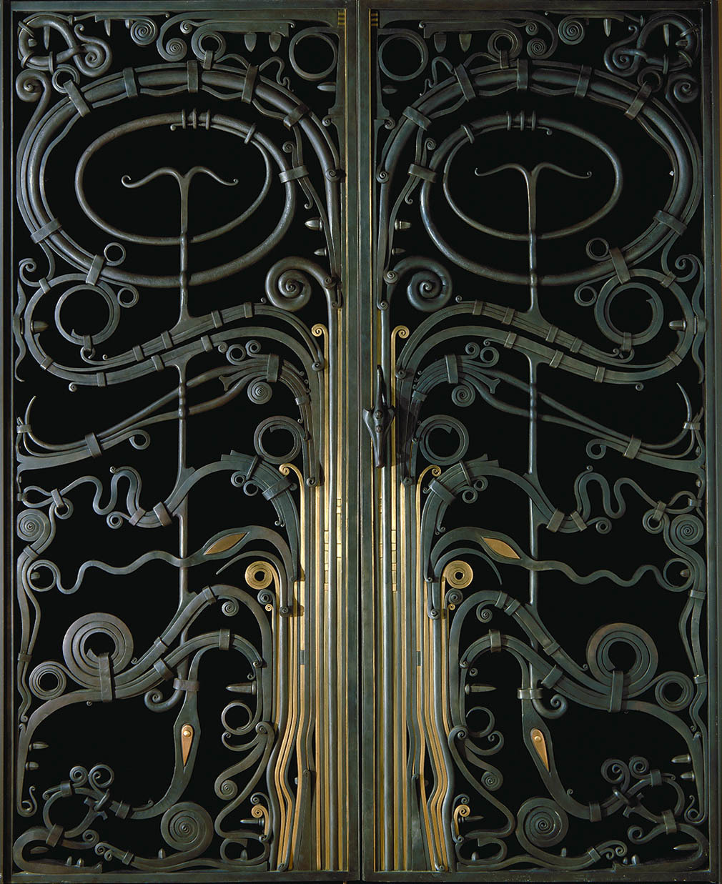 Portal Gates, 1974, Renwick Gallery, Smithsonian Institute's  National Museum of American Art