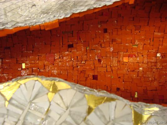 Winged Geode, detail
