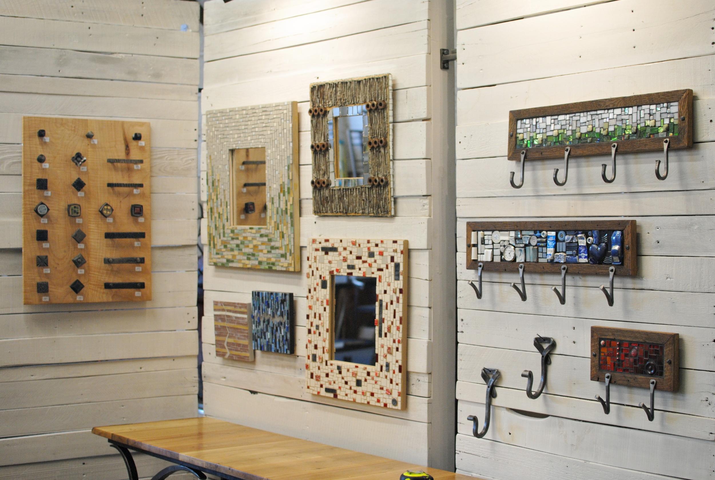 Mosaic-mirrors-and-coat-racks-PH2013.JPG
