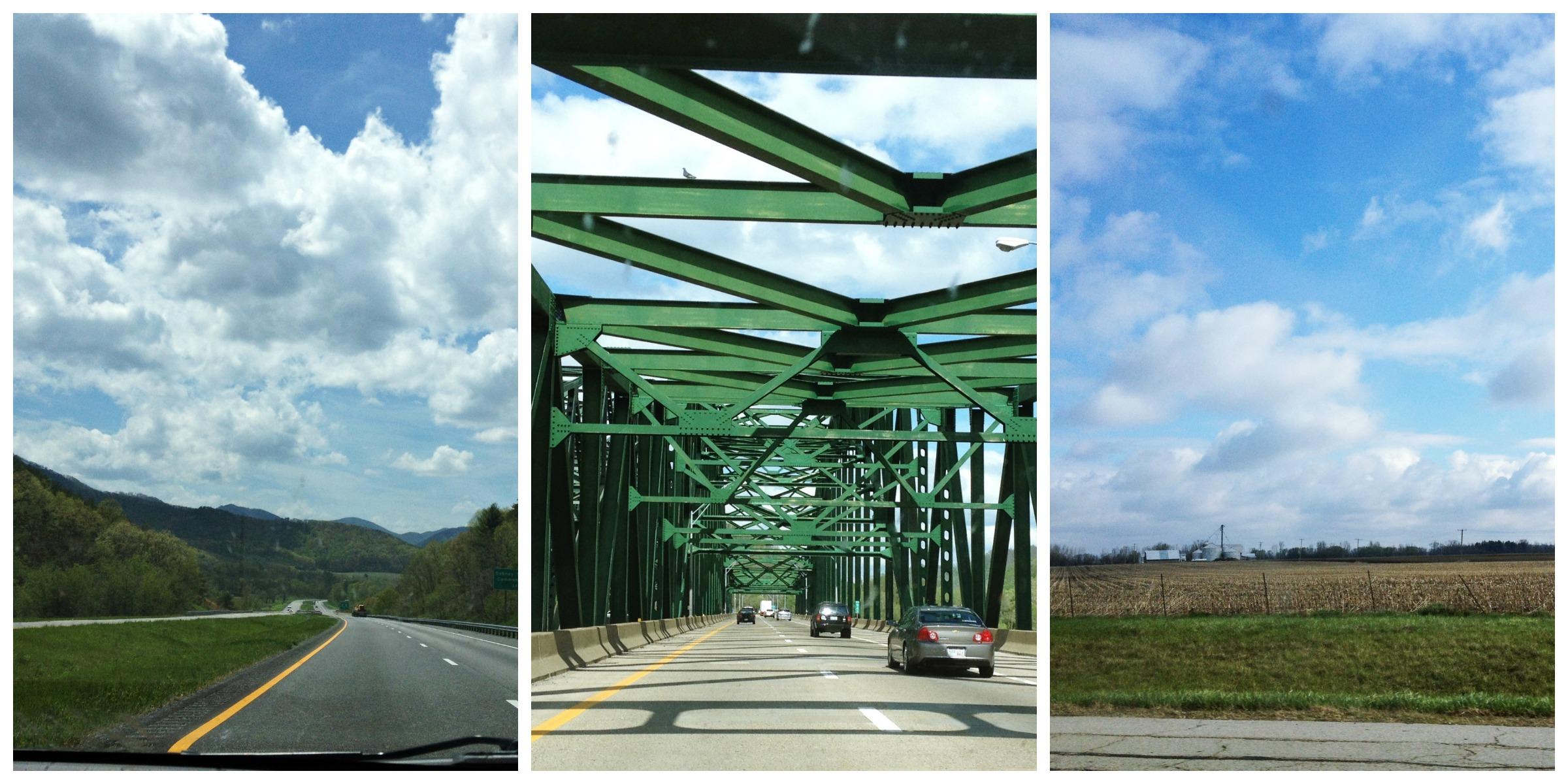 West Virginia and Ohio