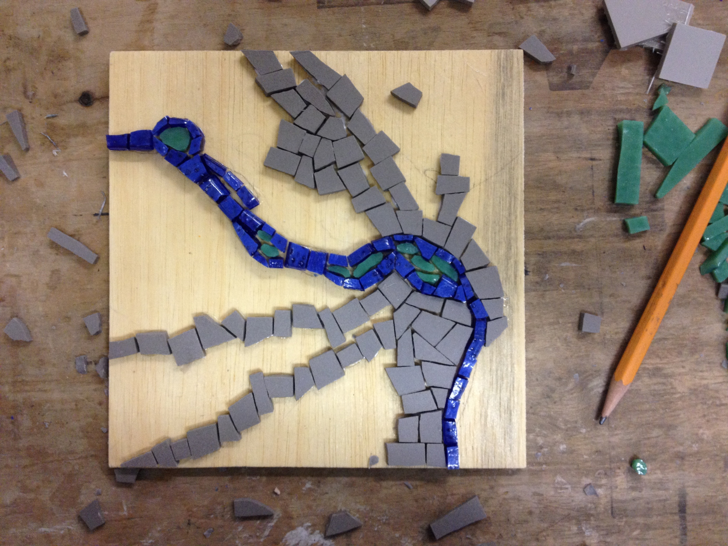 The second piece moves in a bit on the city of Richmond, focussing on the river and human development of the area. This imageis based on a satellite image of the region. The river, downtown islands, and densest areas of development are completed here.