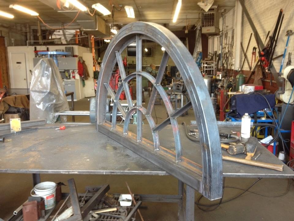 Top arch is done! Now for the bottom.