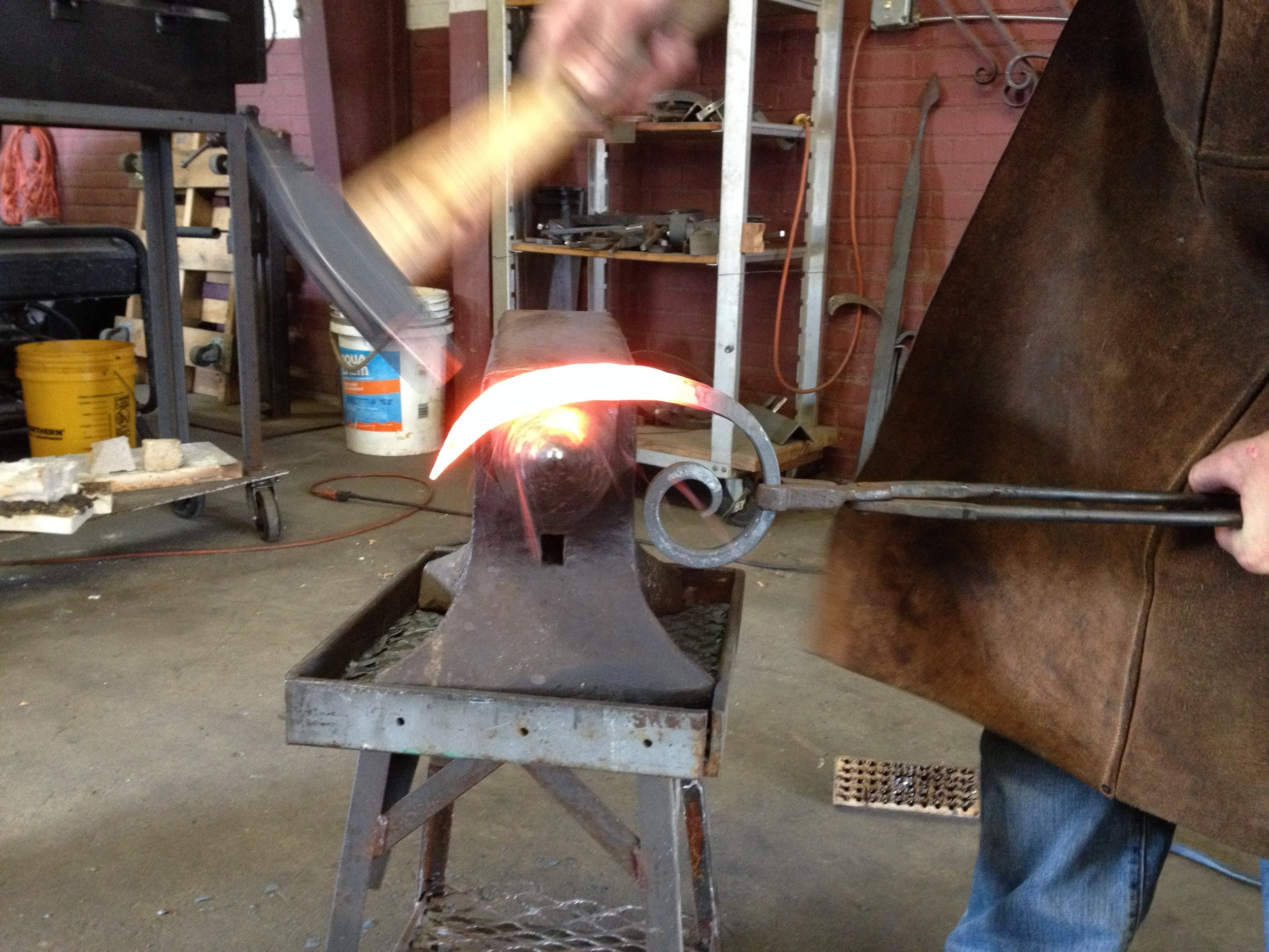 Forging scrolls anvil PH2014.JPG