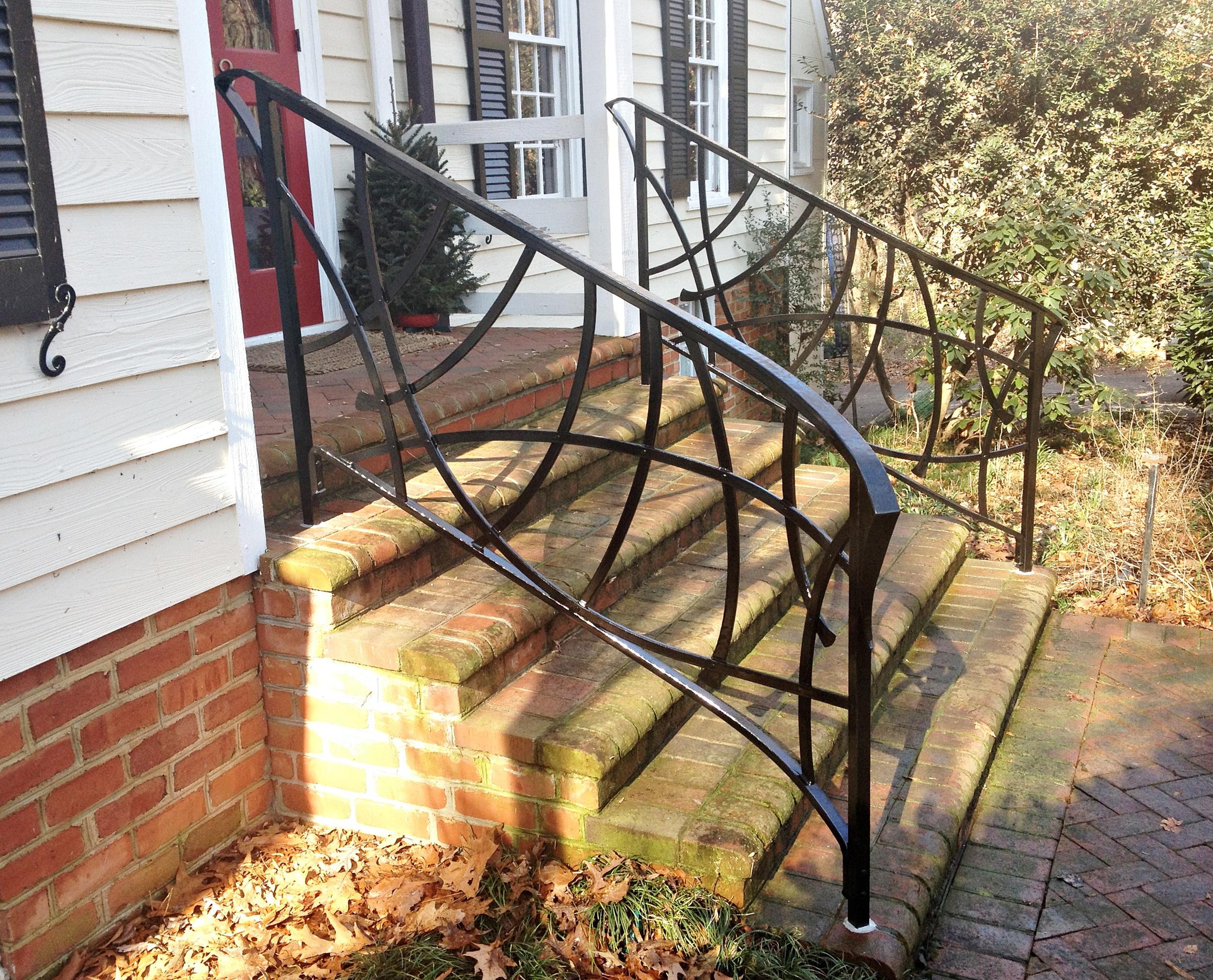 Porch hand rail