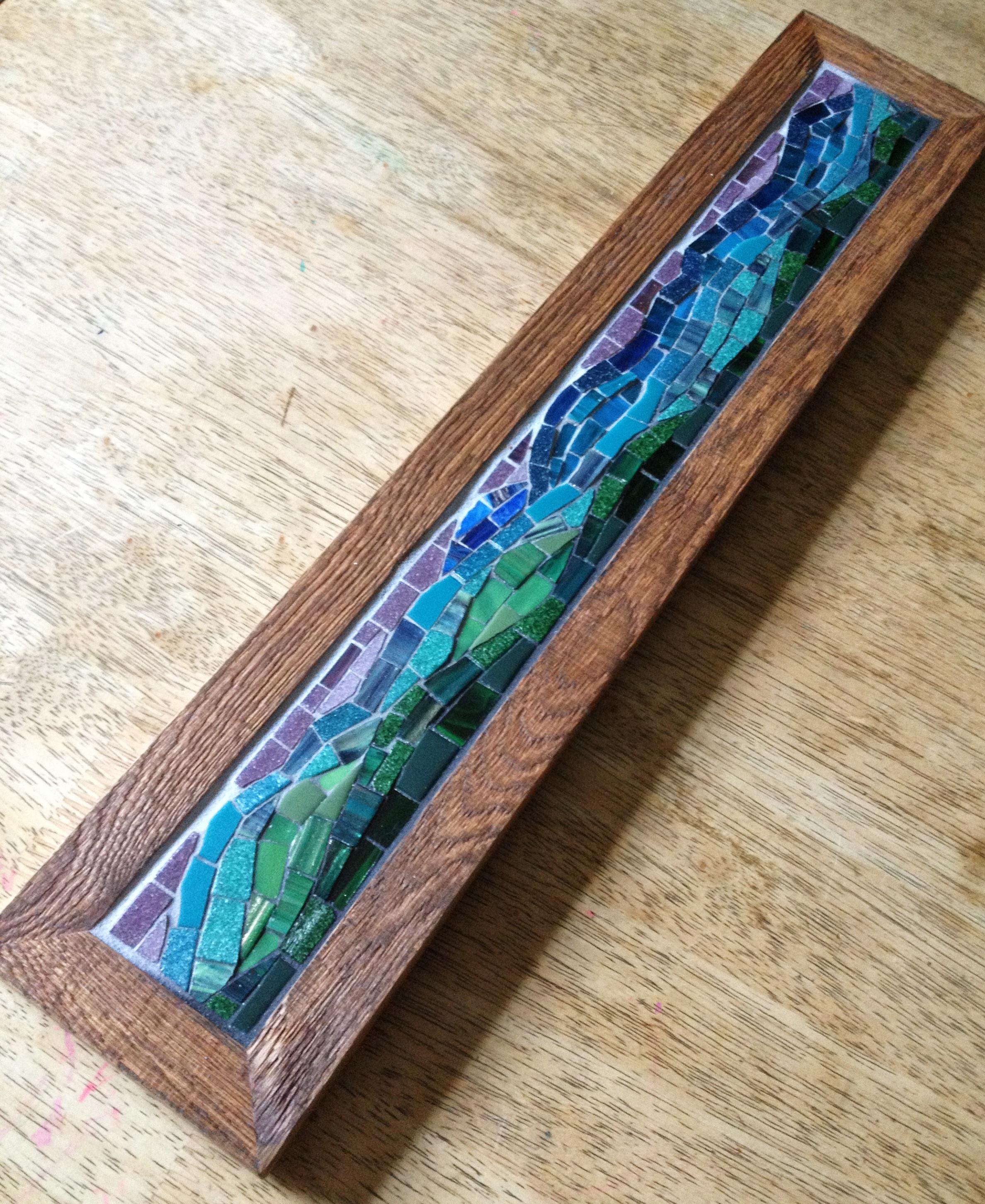 Custom Blue Ridge Mountain mosaic