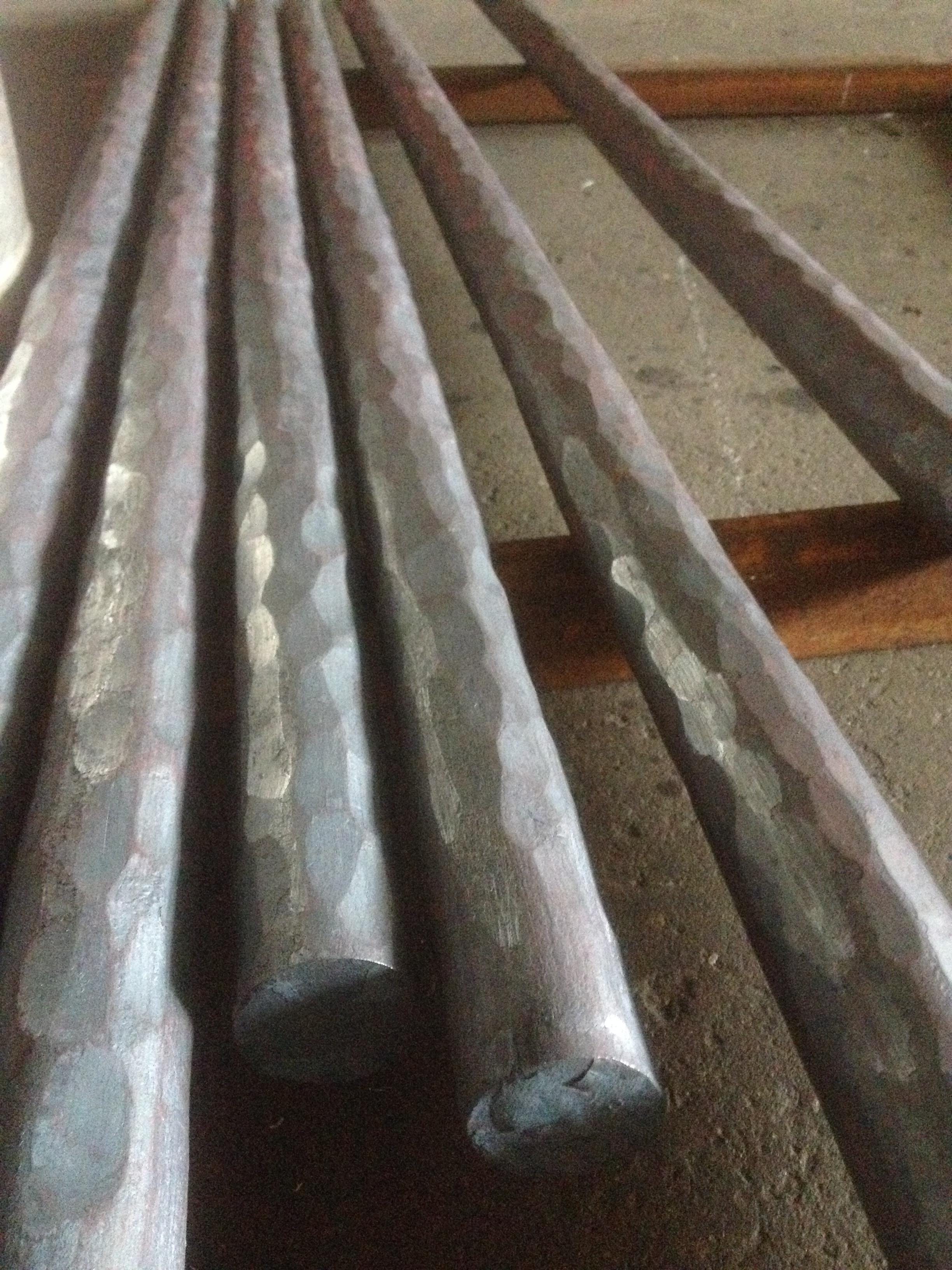 Textured & forged bar rail