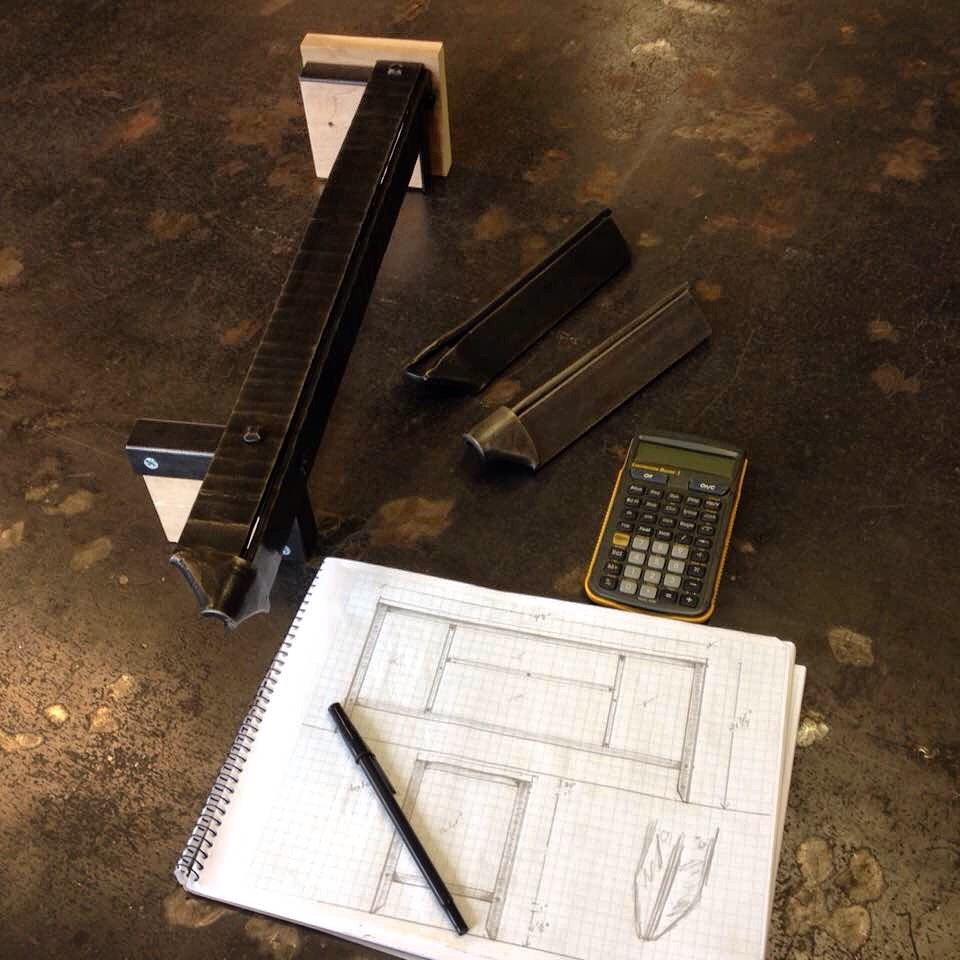 Sketch and prototype for media console PH2016