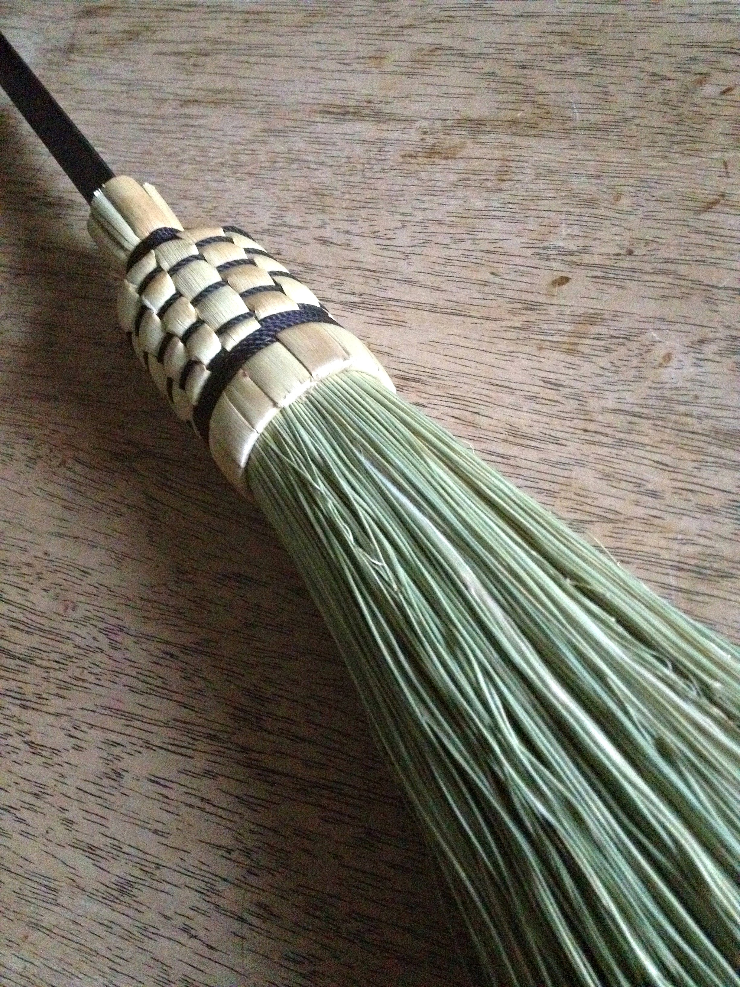 Traditional broom detail