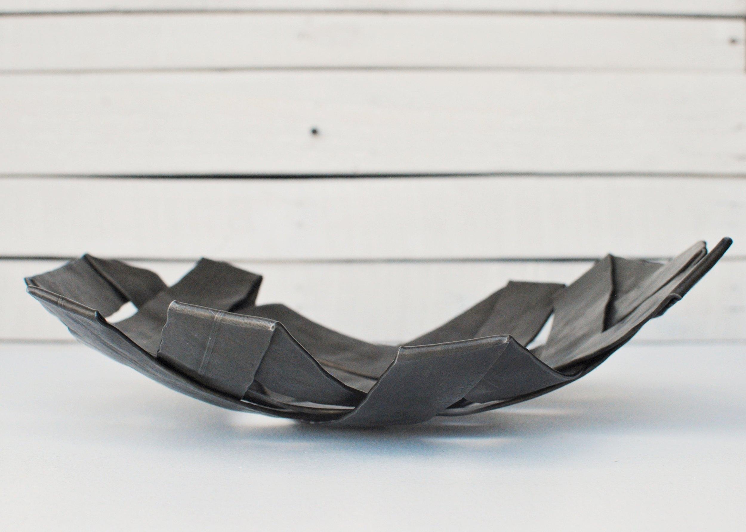 Folded bowl