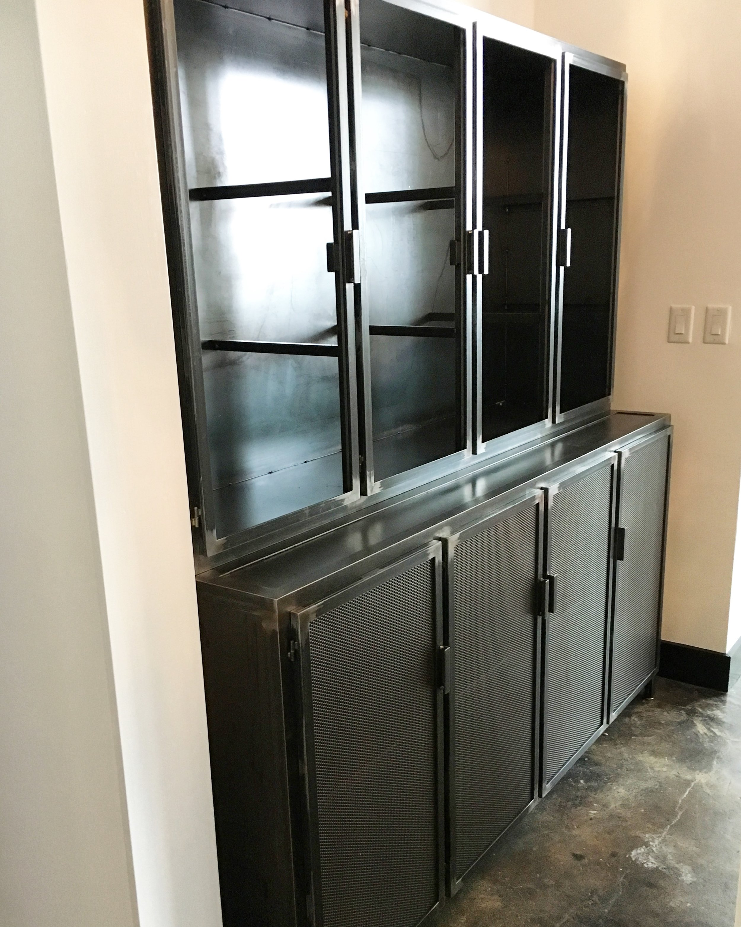 Installing a butler's pantry