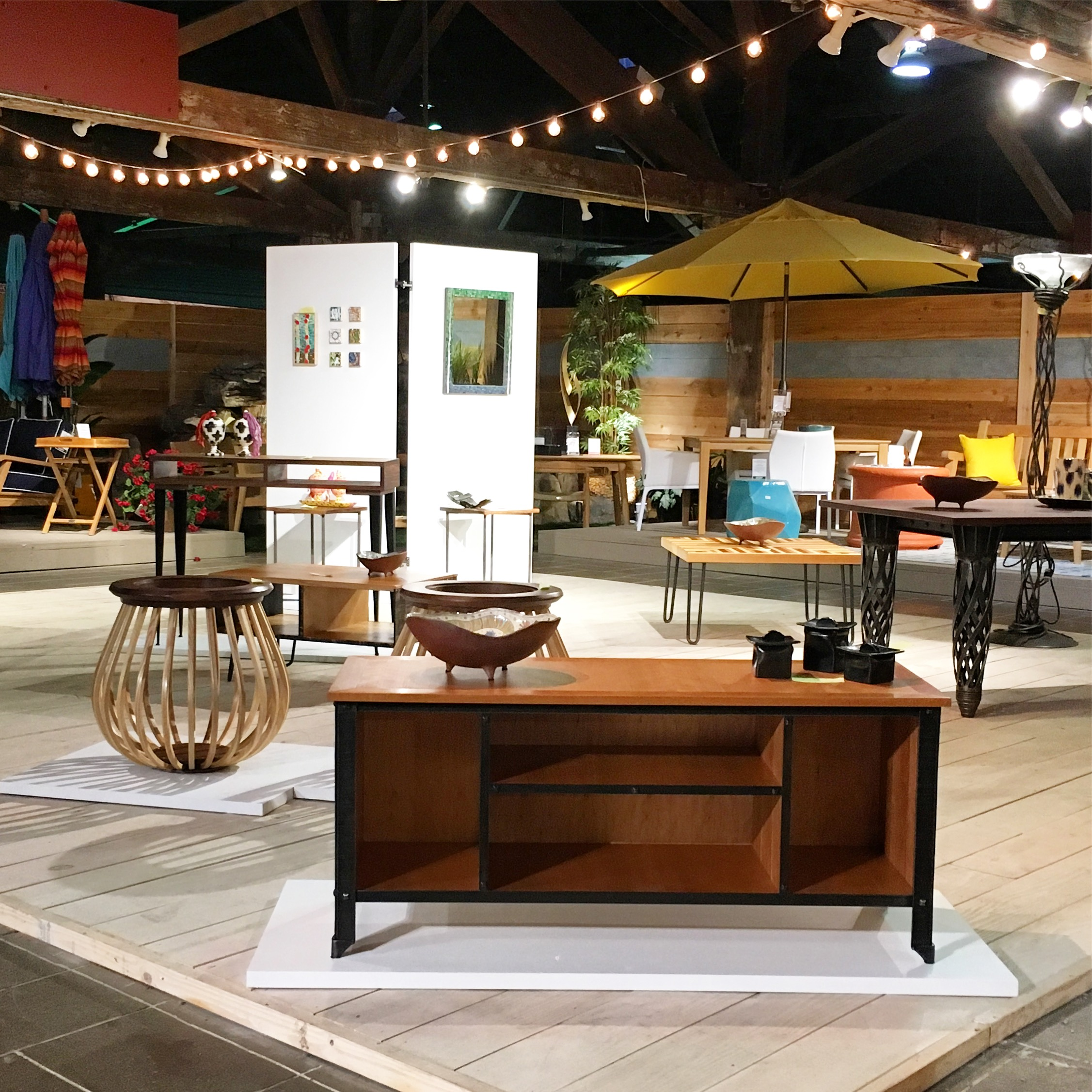 We worked with La Diff owners Sarah Paxton and Andy Thornton and David Bohnhoff of Bohnhoff Furniture and Design to organize Made in RVA, a month-long show featuring the work of local furniture makers and designers.