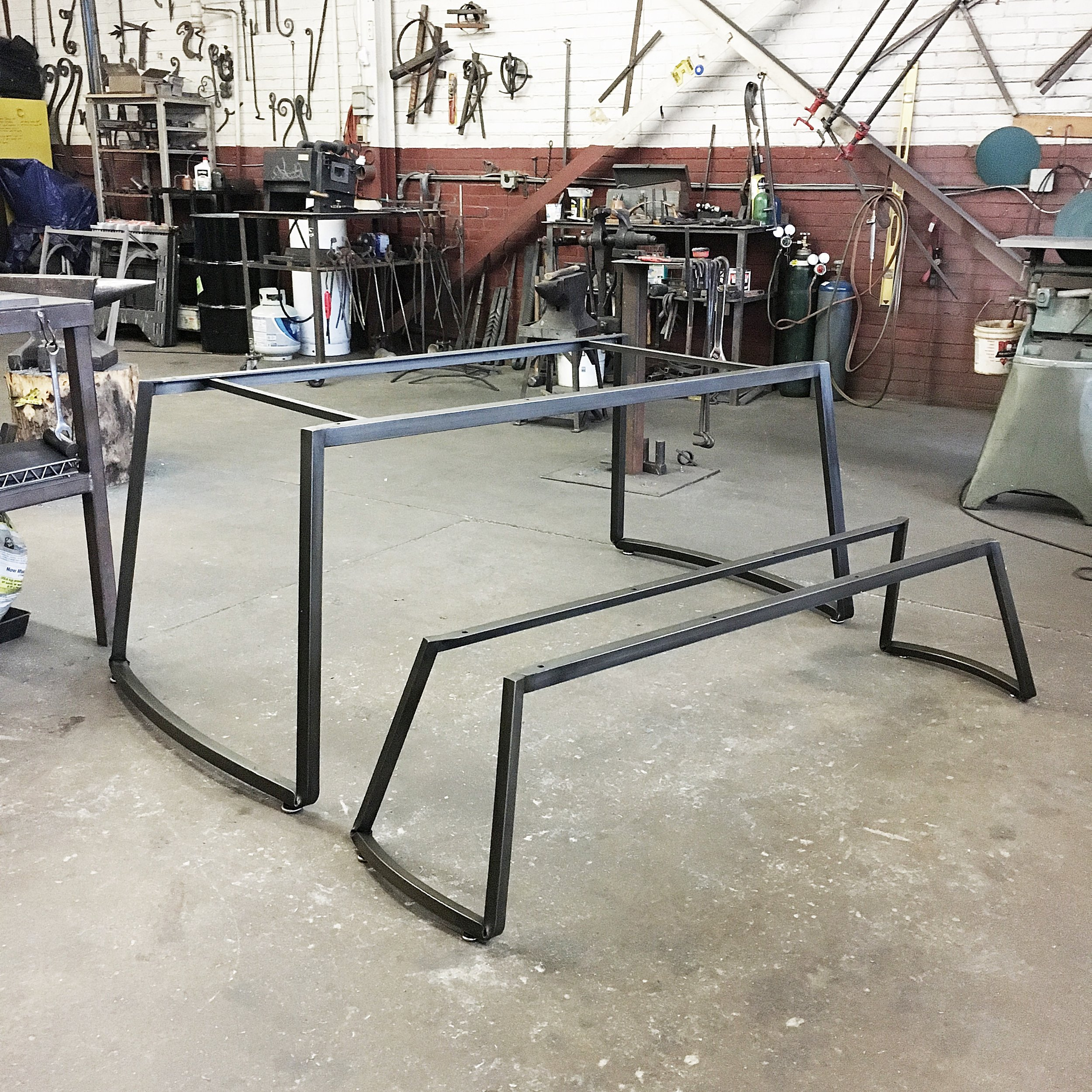 Table and bench bases