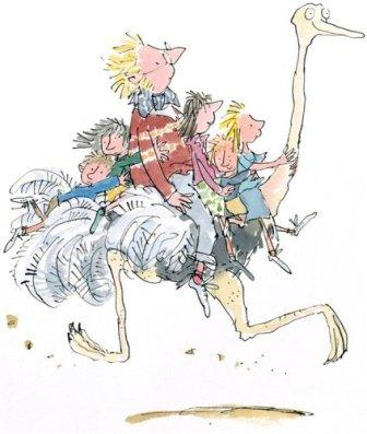 Drawing by Quentin Blake