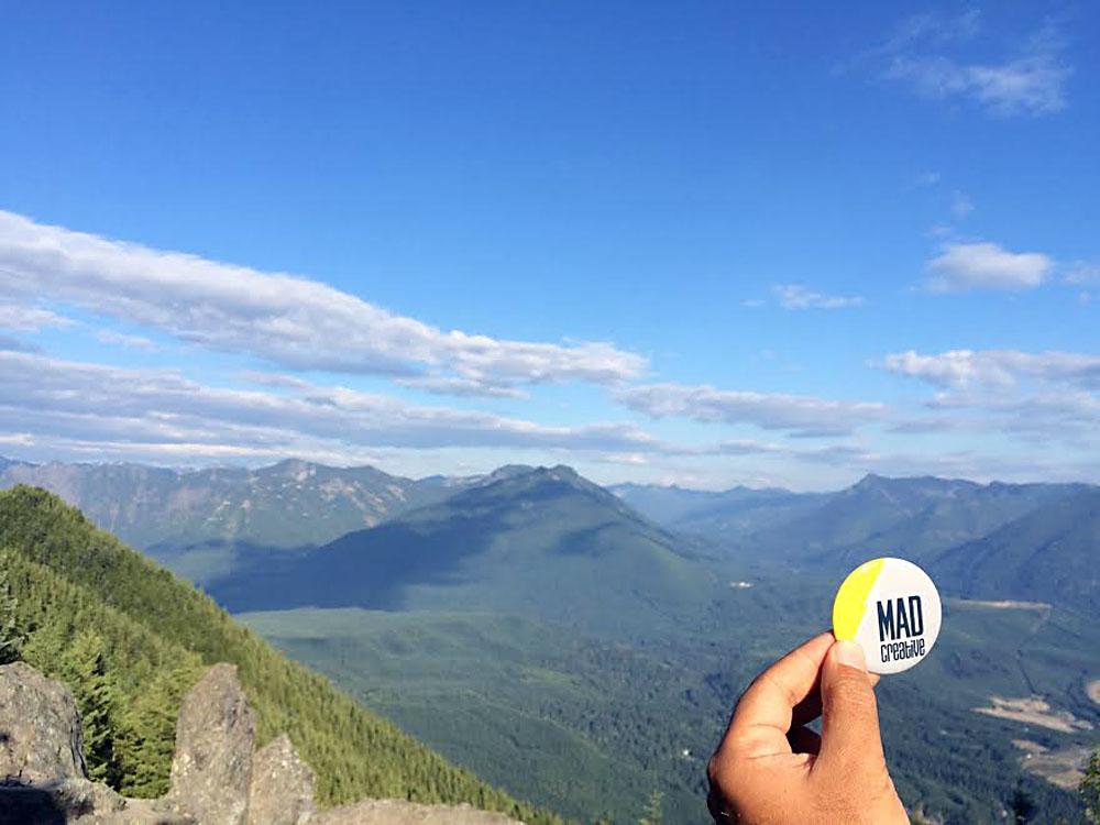 4. We summited Mount Si in Washington.