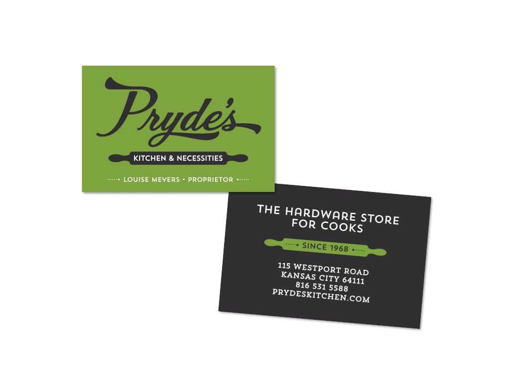Pryde's, after