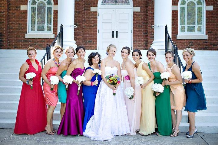 Fete By Design - Bridesmaids Wedding Photo