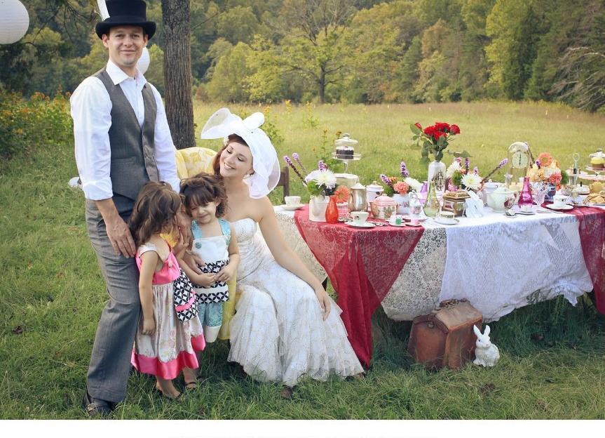Fete By Design - Alice in Wonderland Wedding Shoot