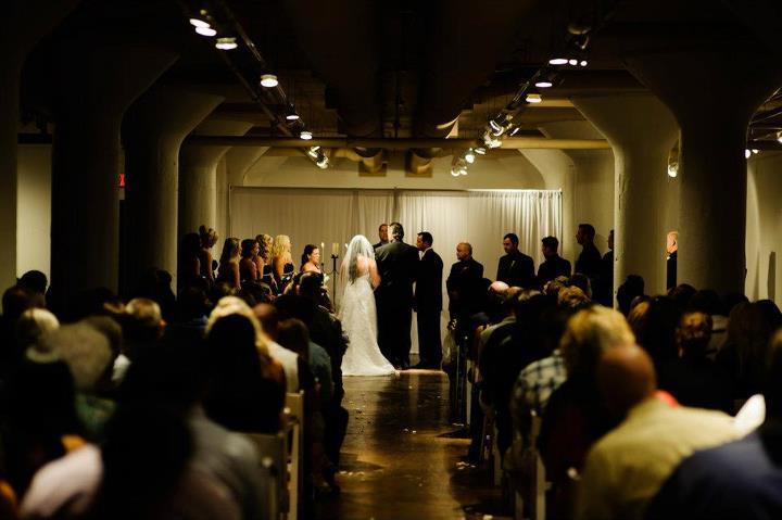 Fete By Design - Loft Wedding Ceremony