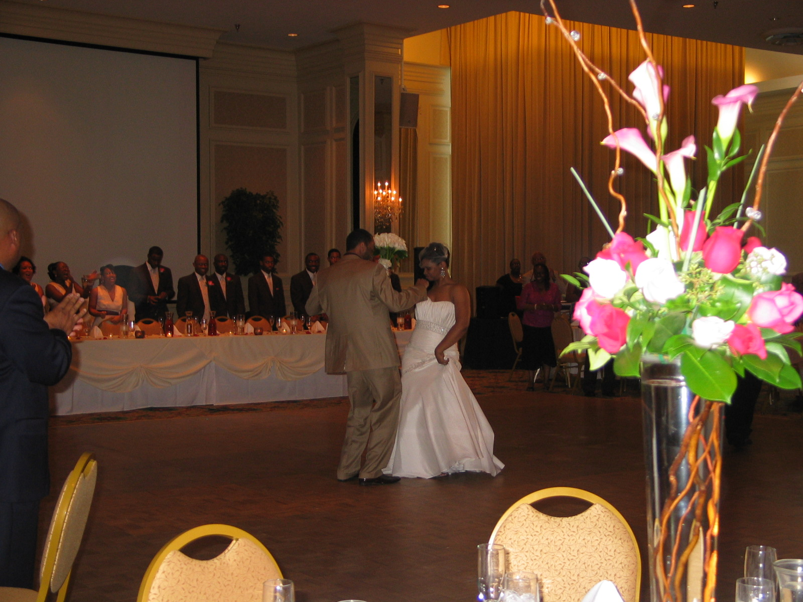 Fete By Design - The Empire Room Wedding - Jada + Earl's First Dance