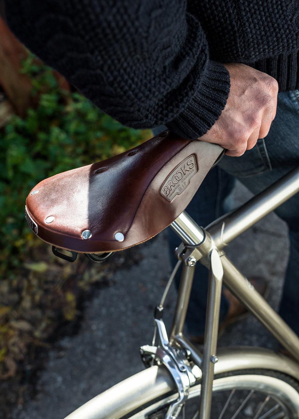 Brooks b17 ladies saddle