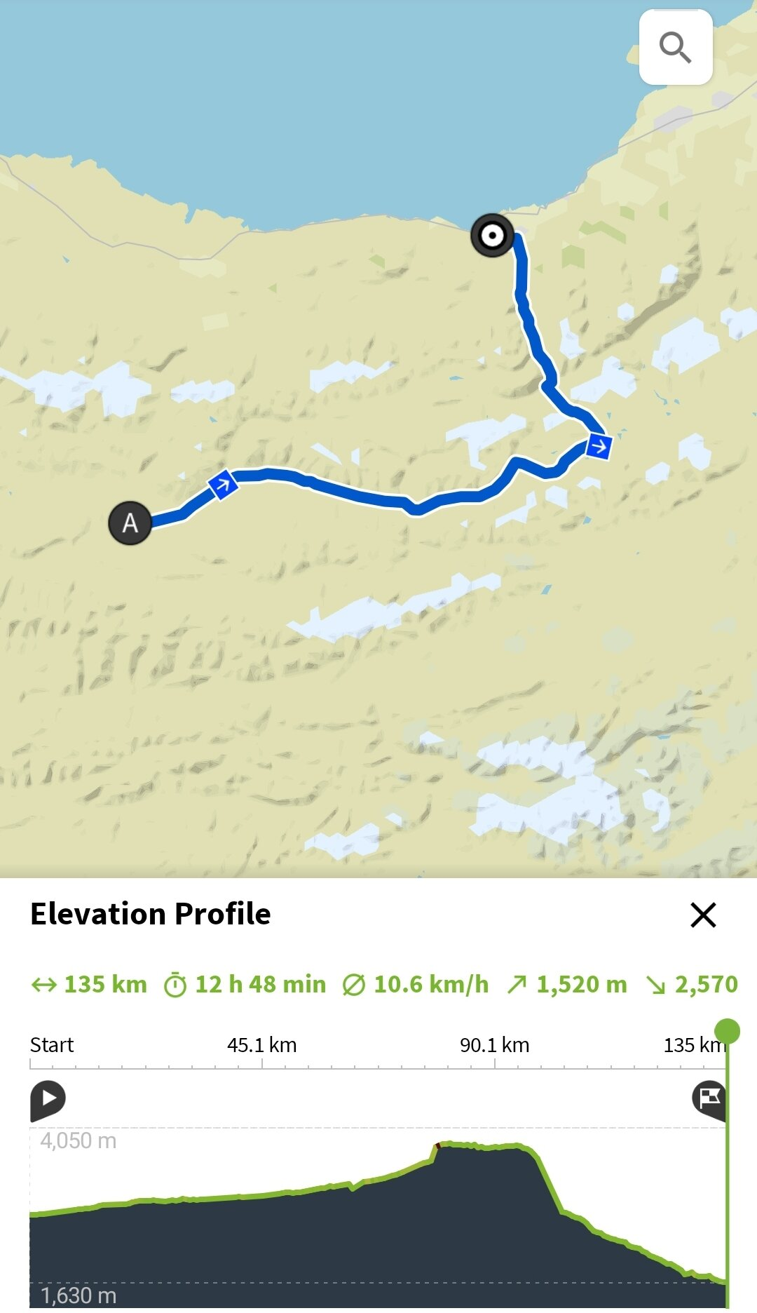 Day 9 // Route crossing to CP3 Baskoon - Time: 12h 48min from 9:00 - 21:30Distance: 135kmVertical meters: 1520m (2570m descent)Highest point: 38000m (Tosor Pass)Weather: Hot and sunny, then really cold at nightSleep: on a couch at CP3 Aist Guesthouse