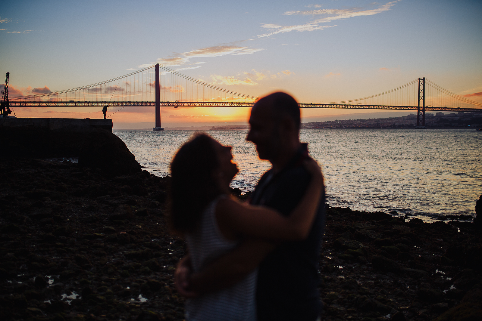 - Beautiful engagement session across Lisbon