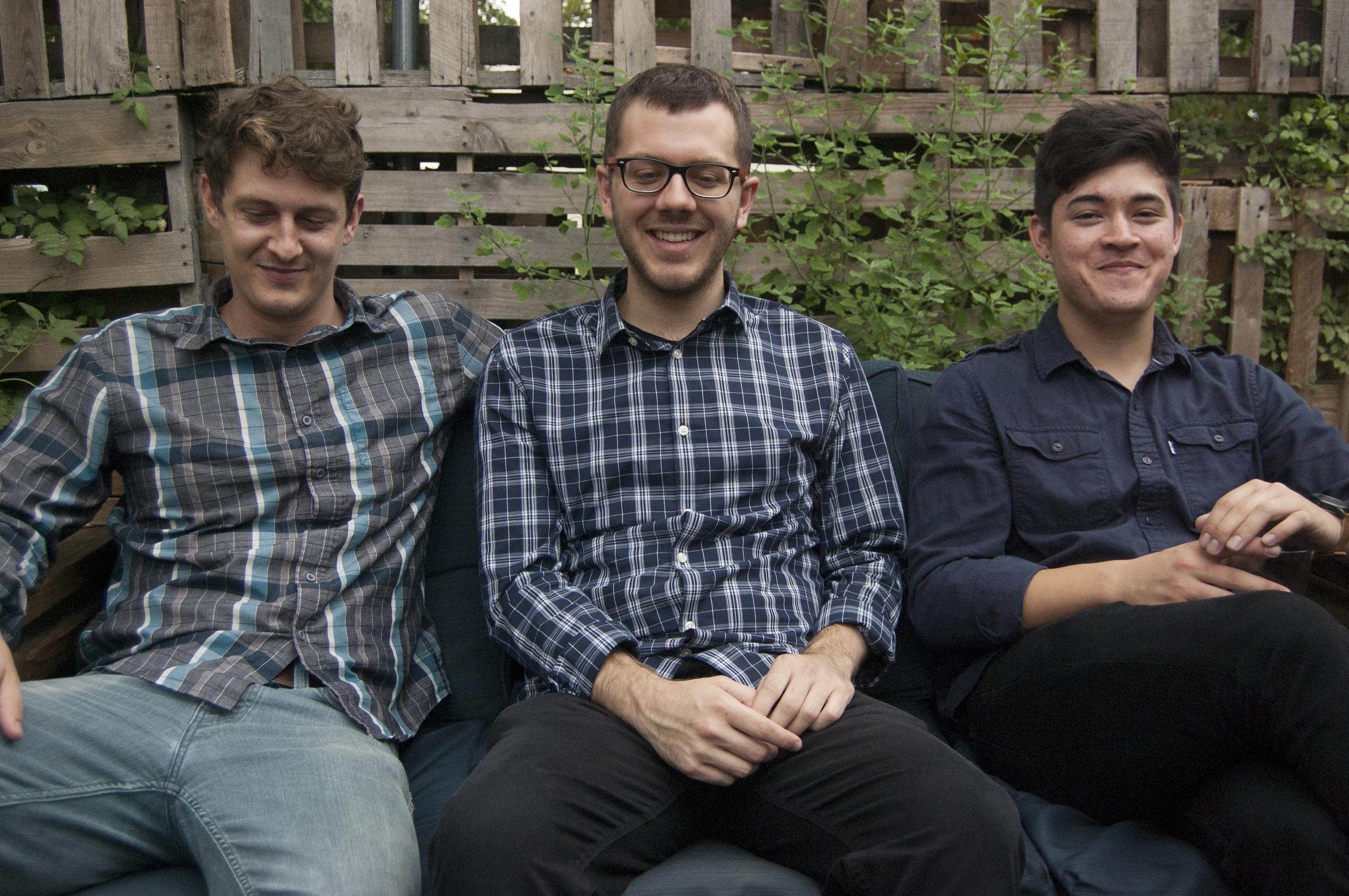 amp trio  Harvest House 8/2015