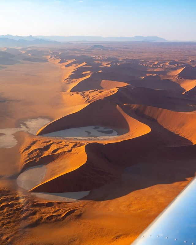"* Insert Toto's ""Africa"" here 🎶 *  Thanks to @the_airplane_factory for trusting us with the prototype sling 4 airplane for our trip flying around the landscapes of Namibia and Botswana  Its difficult to translate how extremely grateful I am to be able to experience the world's beauty  @the_candourist & @carmenhuter 🙏❤️🐿️"