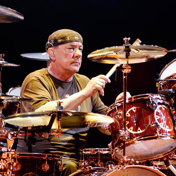 Happy birthday Neil Peart! The most inspiring drummer of our time! #neilpeart #rush #drummer #bestdrummer #alexlifeson #geddylee #drumhero