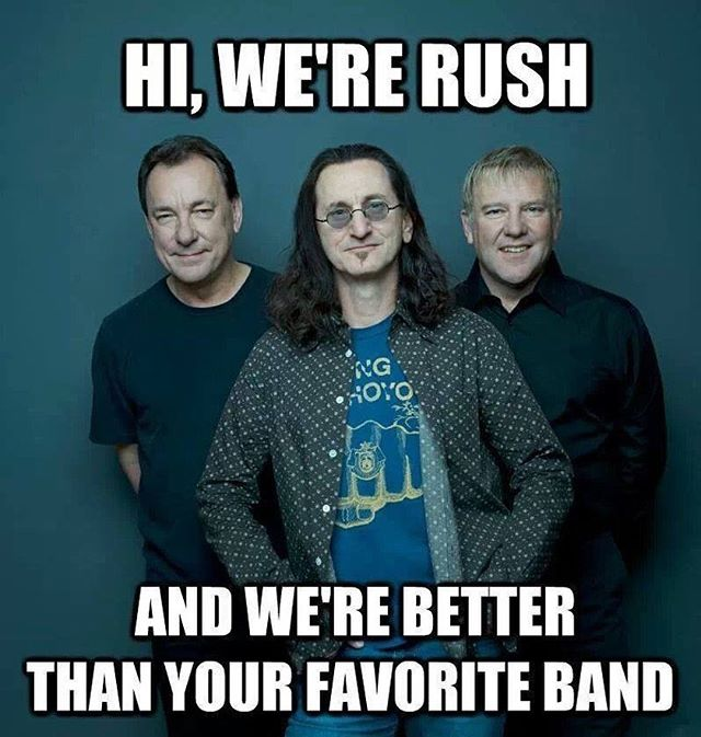 That's right! #rush #geddylee #alexlifeson #neilpeart #progrock #progressiverock #rocklegends #musicians #mathrock
