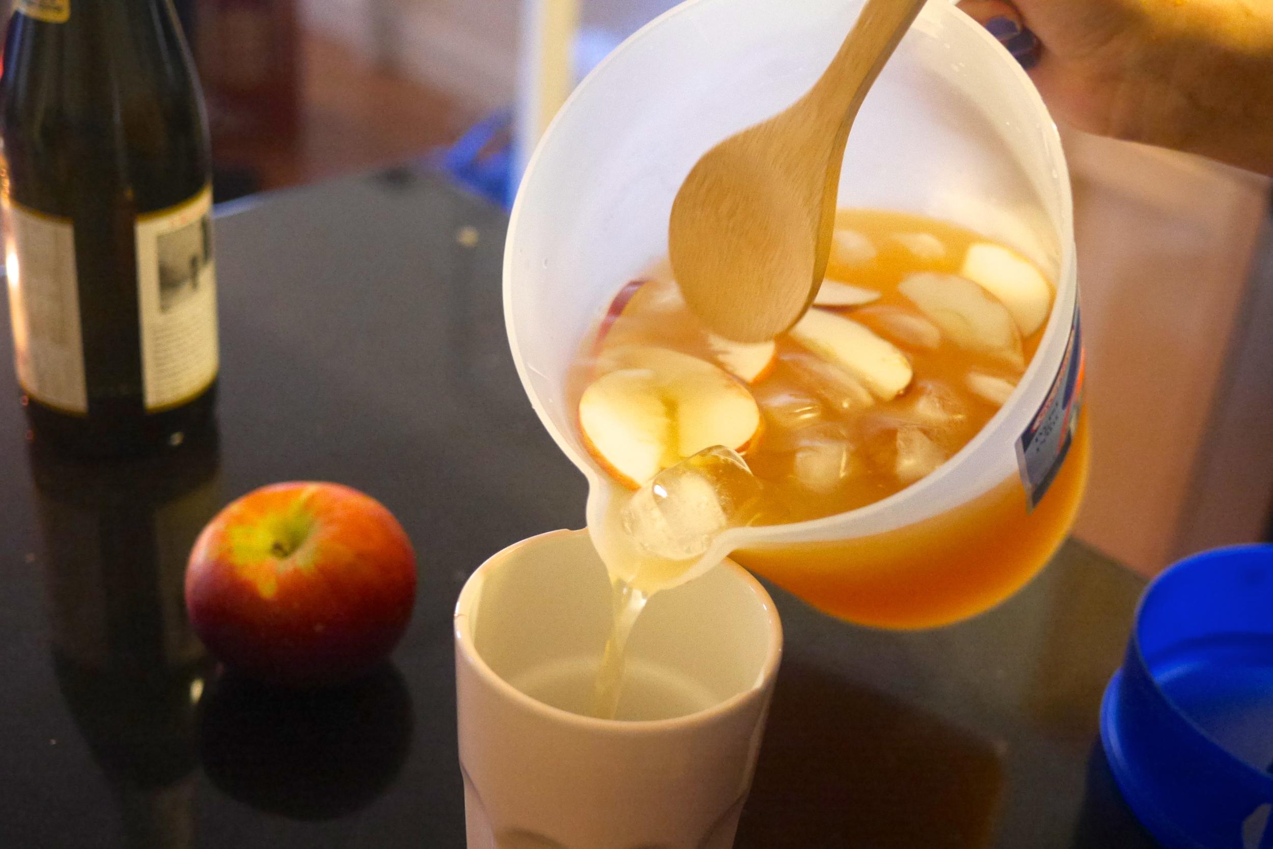 Apple Cider Sangria!