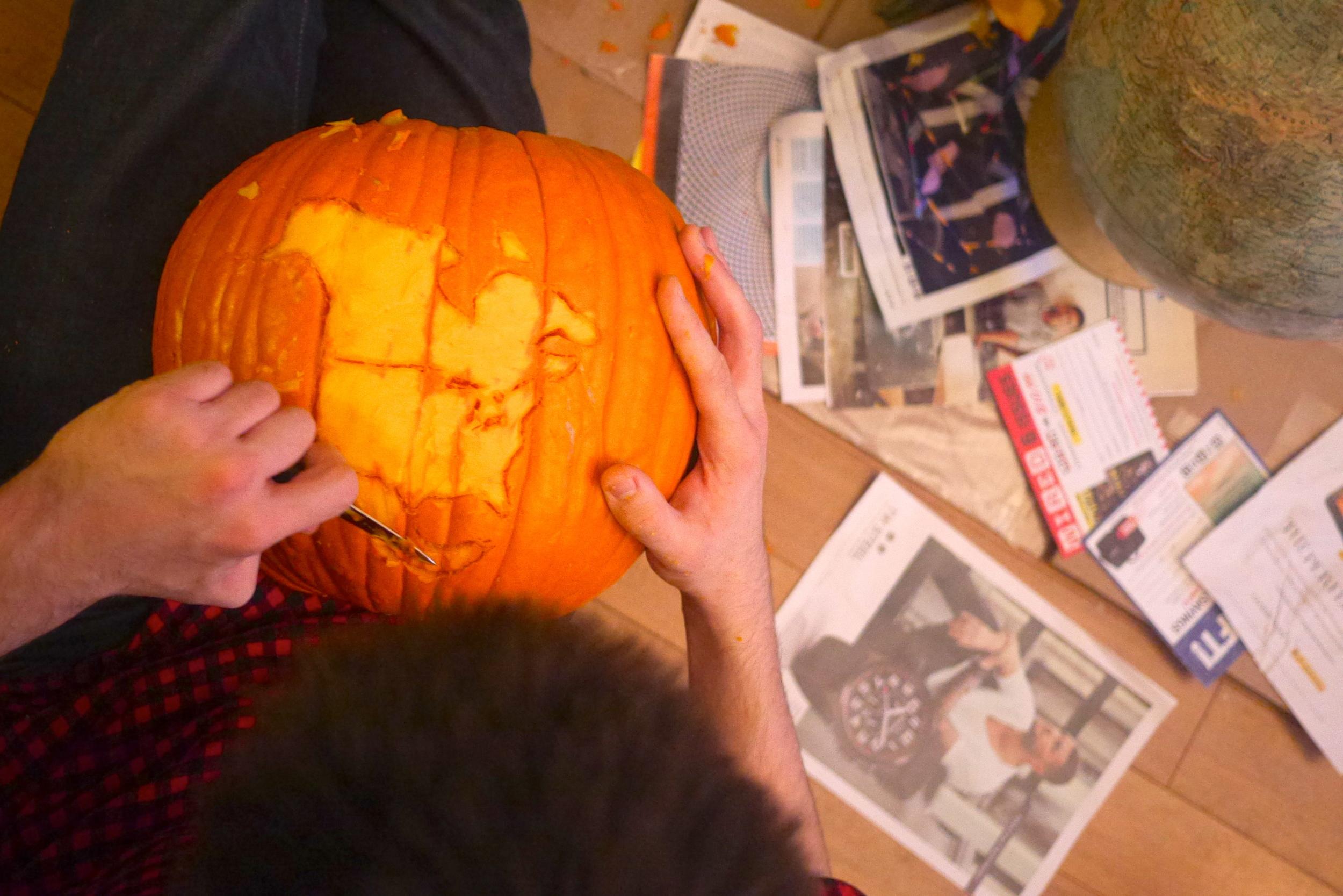North America pumpkin!