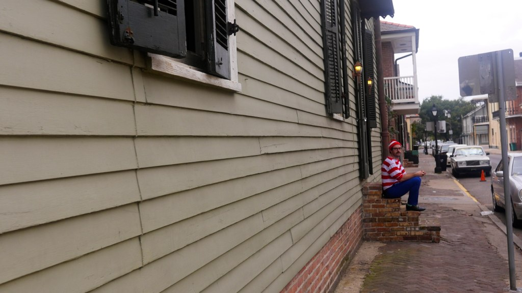 Waldo in the French Quarter