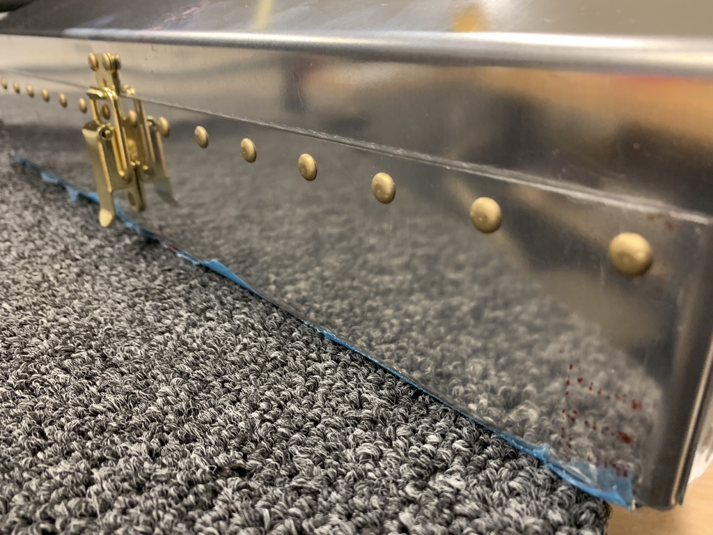 universal head rivets for front stiffener
