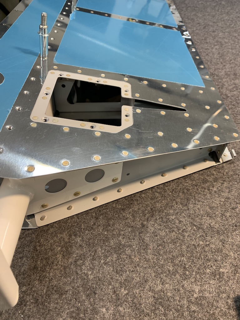 Trim tab access panel complete.
