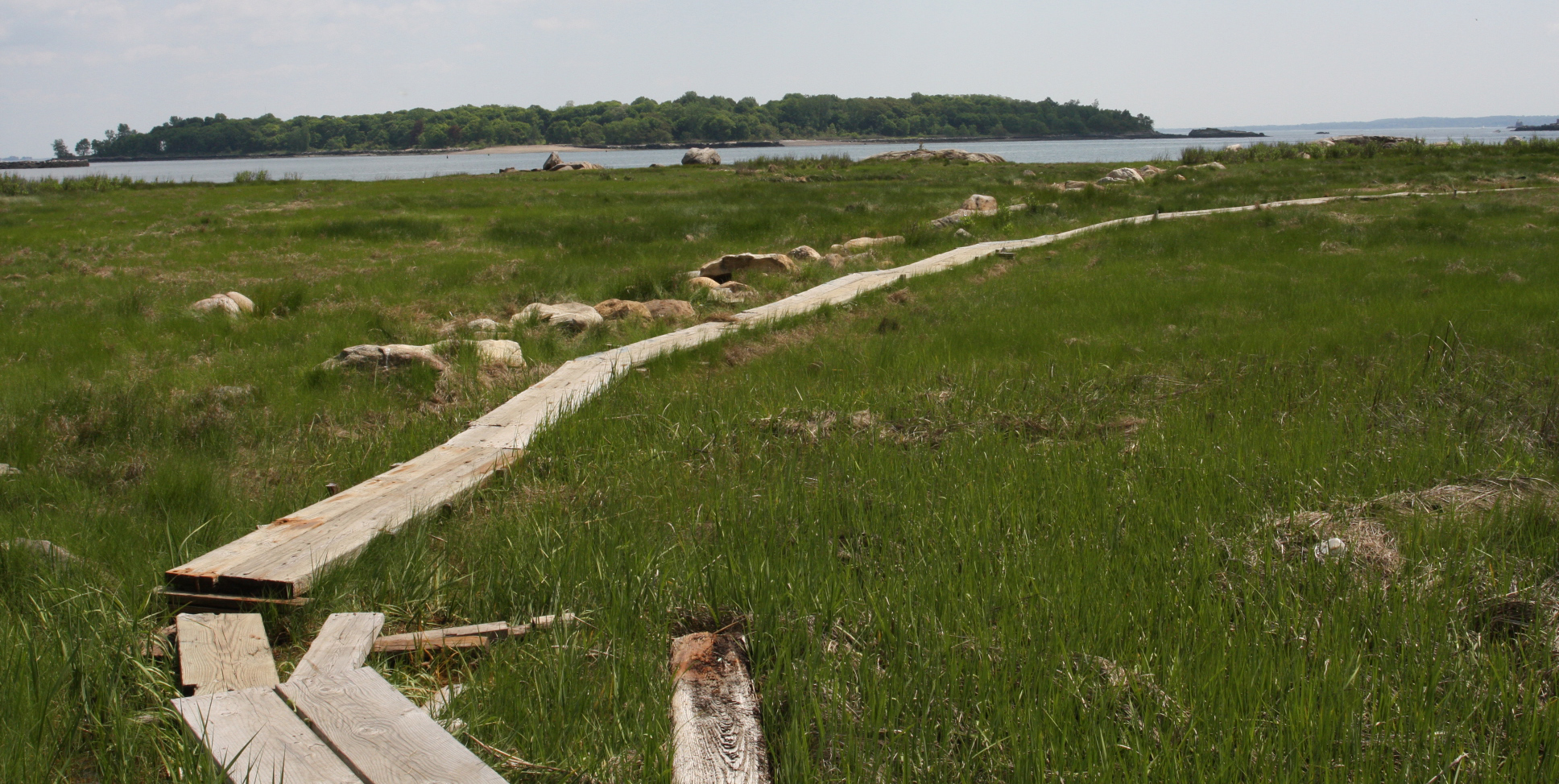 Hunter Island in Pelham Bay. Highlighted by  Backpacker Magazine  for it's hiking.