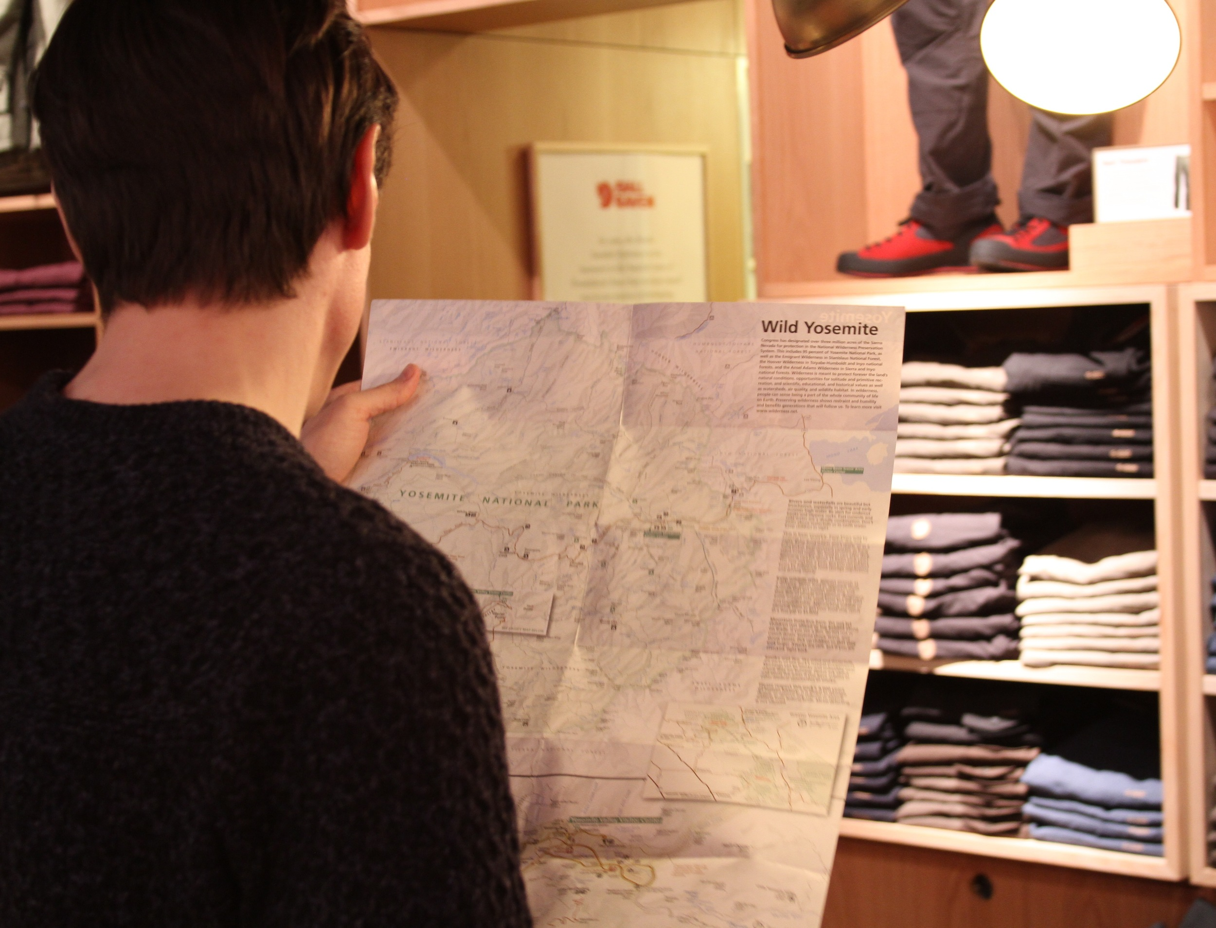 Checking out a map.JPG