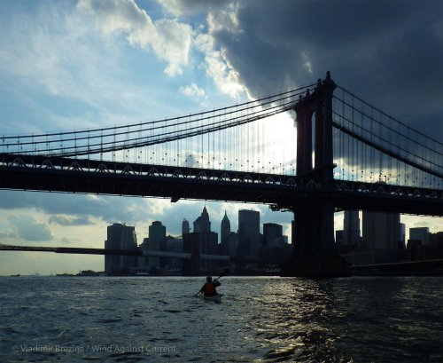 2. East River: Moody Downtown vista