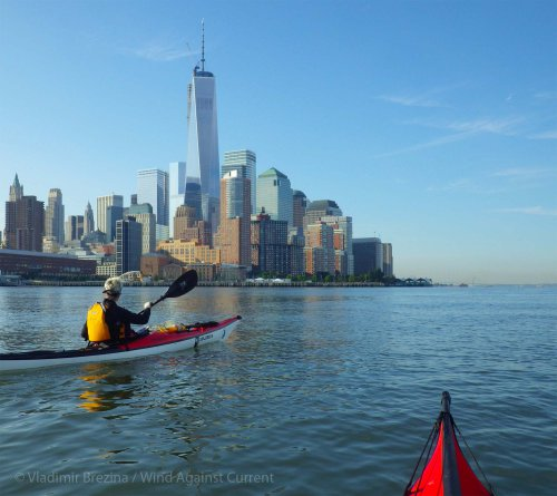 3. Hudson River: The new World Trade Center ahead
