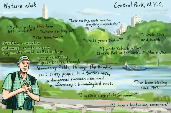 "Exploring Central Park with Ken Chaya of Central Park Nature or ""The Man Who Mapped the Trees"""