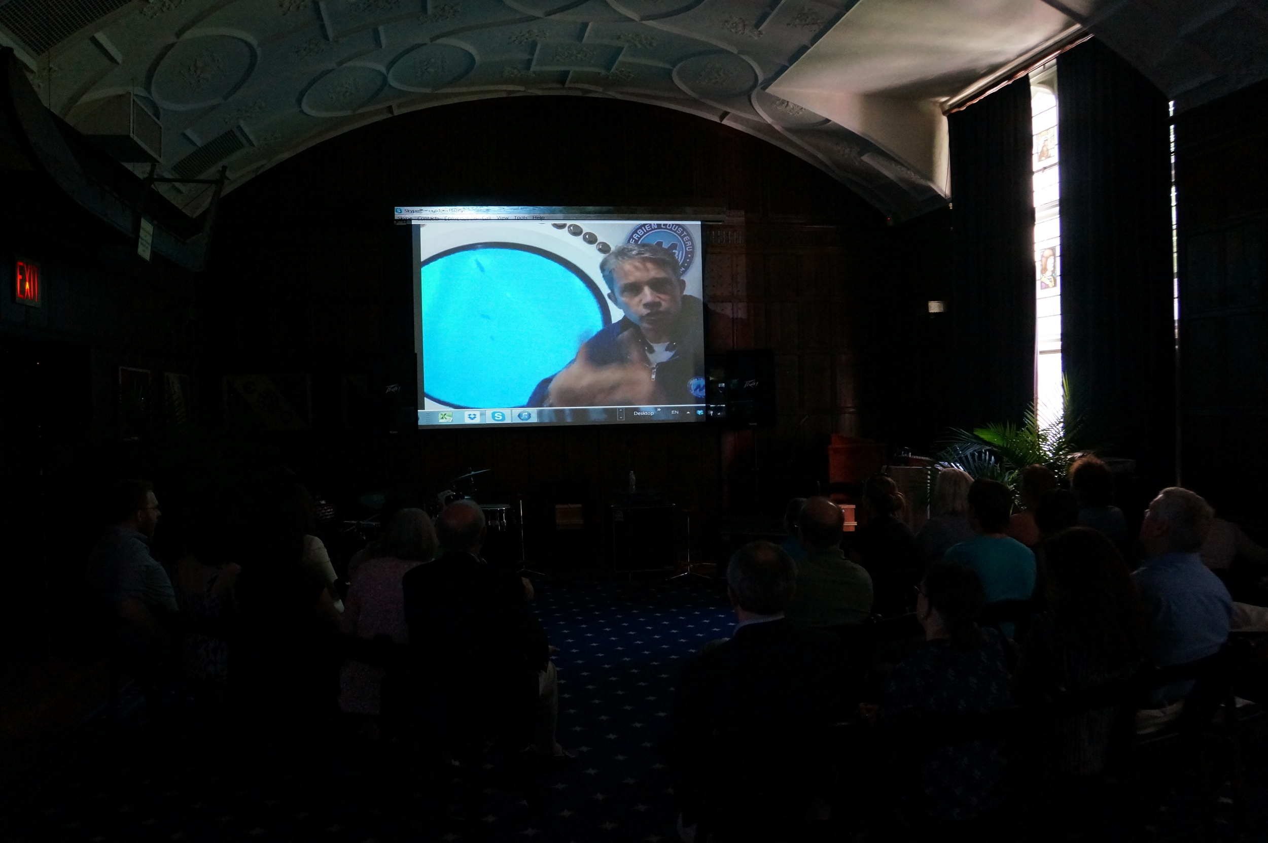 Cousteau on the big screen.