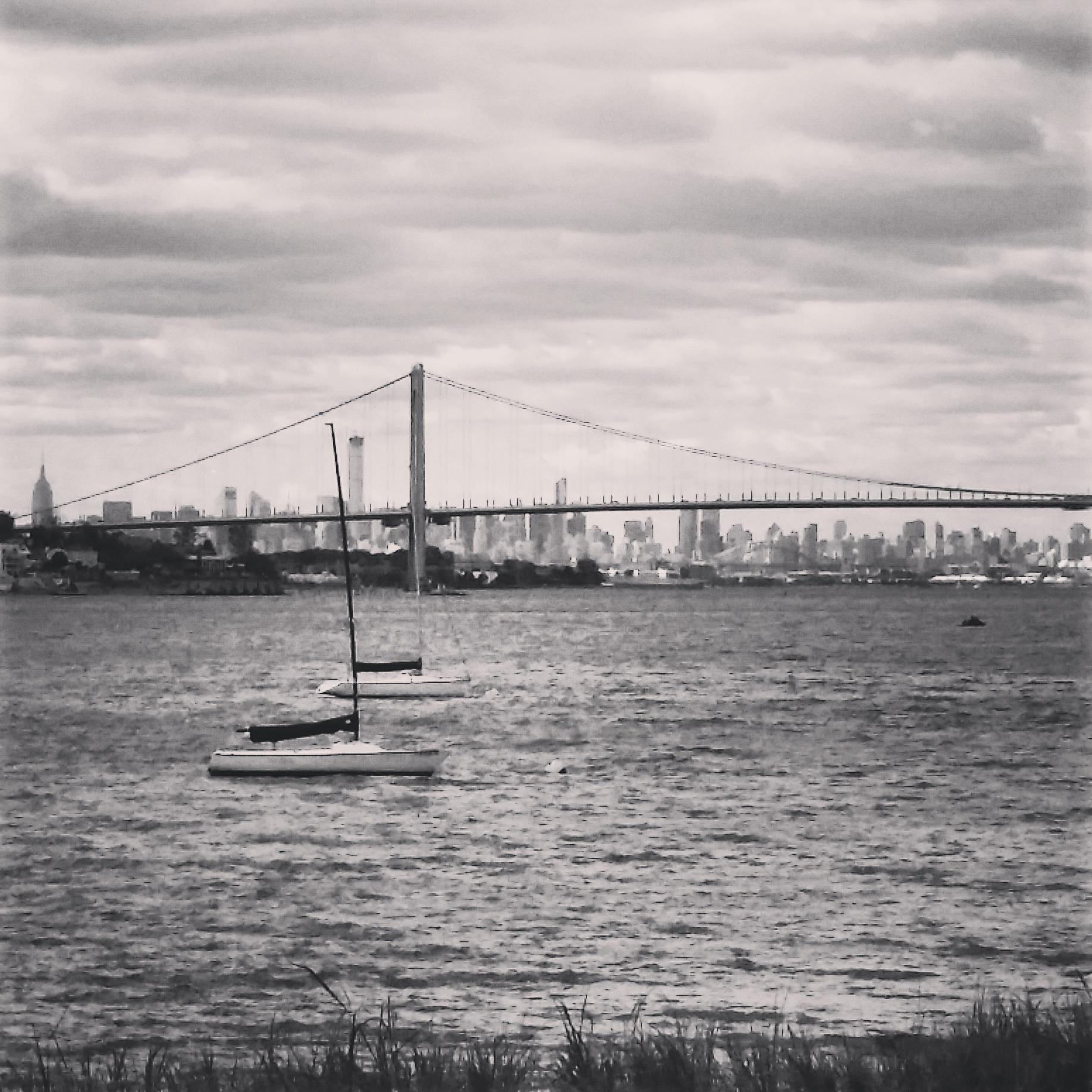 River views on the Tour de Bronx