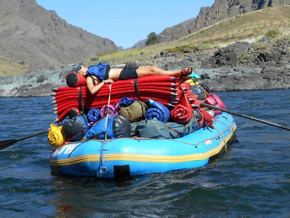 Not quite river ready yet...    -Audrey Larkin