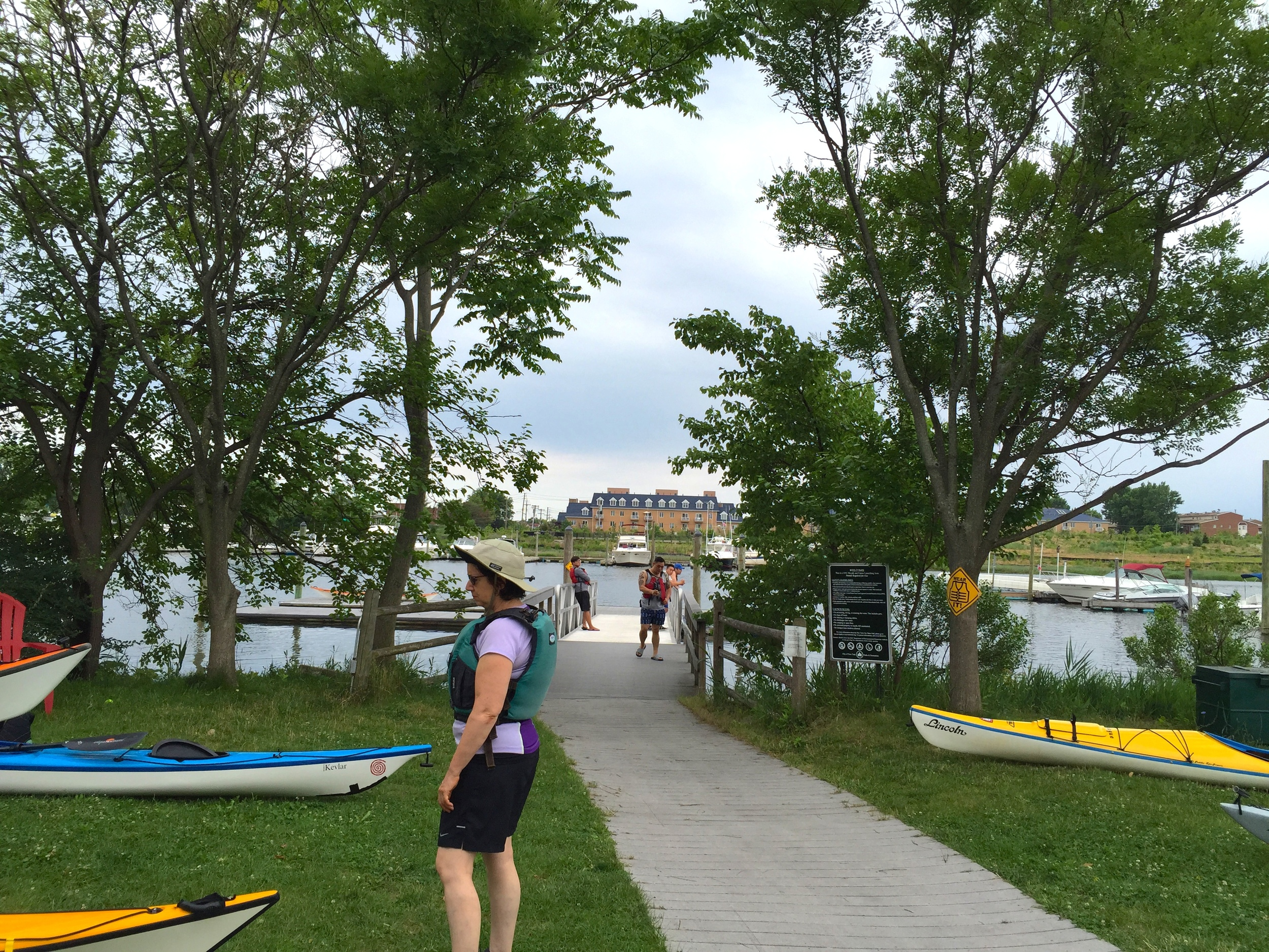 The    Sebago Canoe Club    is located in the Paerdegat Basin in Brooklyn on a beautiful lot of land right on the water that they lease from the NYC Parks Department: