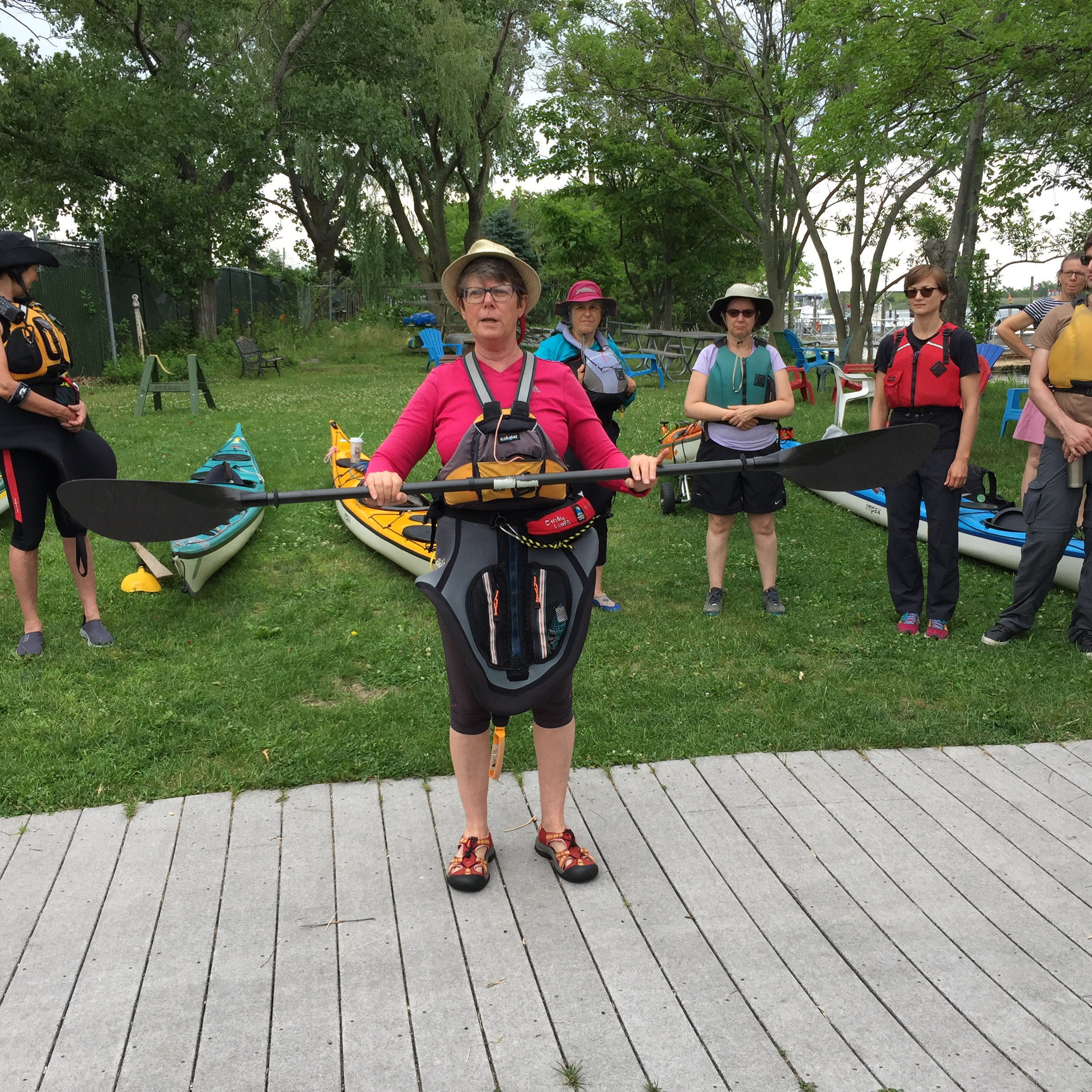 Kayaking 101 - how to hold your paddle