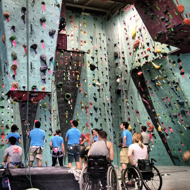 """Shot from 2015 """"Strong Climb"""" Competition"""